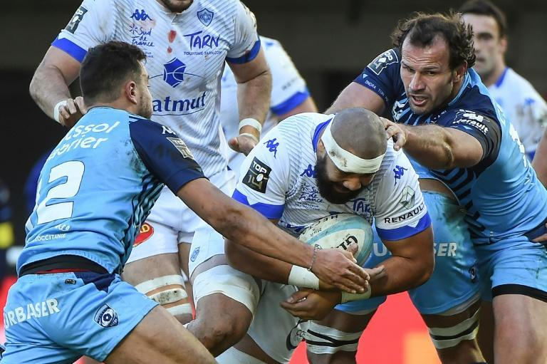 Castres' Maama Valipulu scored his first Top 14 try since May 2018