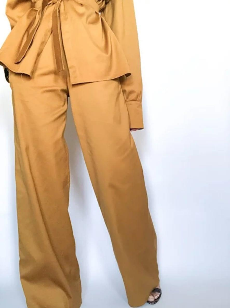 <p><span>ECLECTICIST's Cary Pants</span> ($158) may just be the new bottoms you'll want to pair with every bodysuit in your closet. </p>