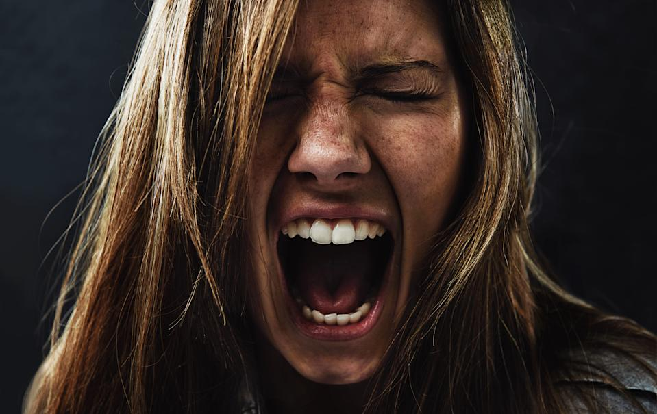 Could scream therapy relieve some of the stress of coronavirus? (Getty Images)
