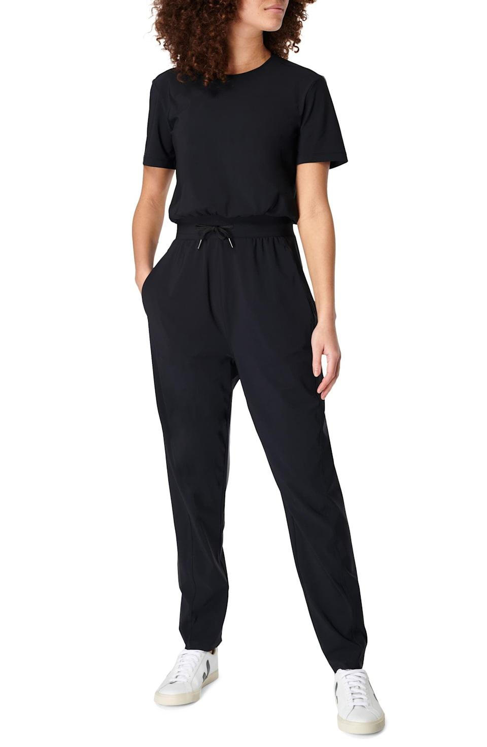 <p>This <span>Sweaty Betty Explorer Jumpsuit</span> ($148) is stretchy, and perfect for casual occasions.</p>