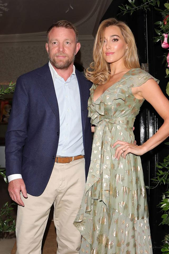 Guy Ritchie Finally he married his Jacqui such as the American