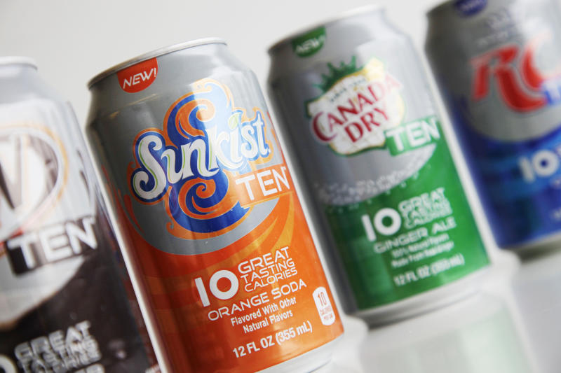 Soda companies racing for a new sweet spot