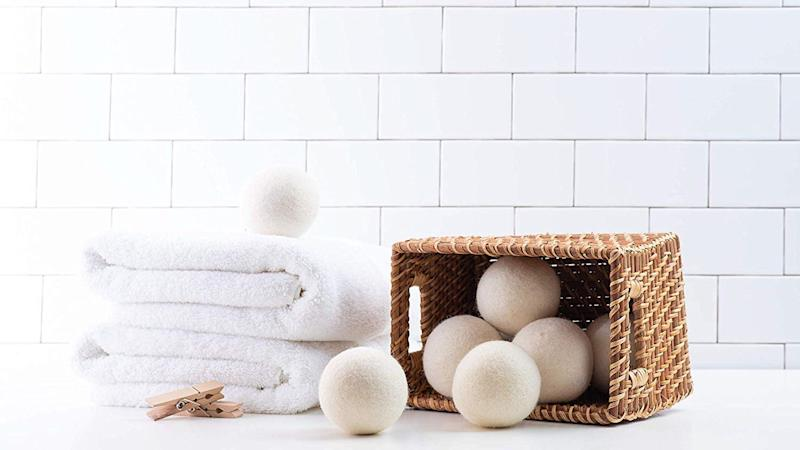 Snag these dryer balls at a discount.
