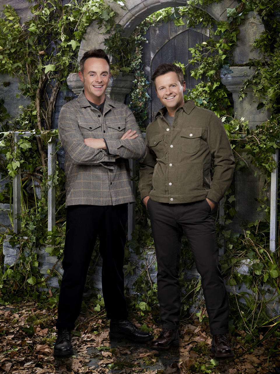 Ant McPartlin and Declan Donnelly in a promotional still for I'm A Celebrity... Get Me Out Of Here! (ITV)