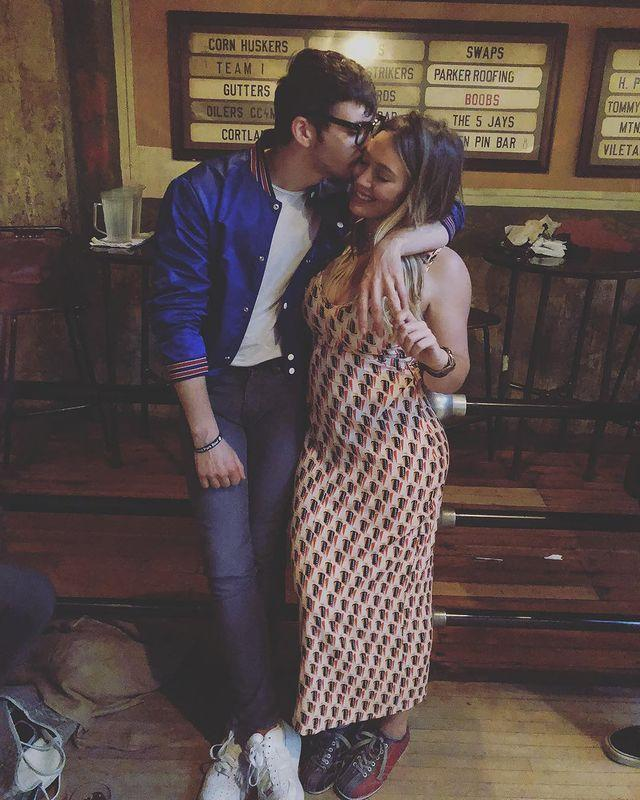 """<p>The star revealed on Instagram in June 2018 that she was pregnant with her second child.</p><p>'Guess what guys! @matthewkoma and I made a little princess of our own and we couldn't be more excited!!!!!!' she captioned the post which showed off her growing baby bump.</p><p><a href=""""https://www.instagram.com/p/BjxVOv4H9Gi/?utm_source=ig_web_copy_link"""" rel=""""nofollow noopener"""" target=""""_blank"""" data-ylk=""""slk:See the original post on Instagram"""" class=""""link rapid-noclick-resp"""">See the original post on Instagram</a></p>"""