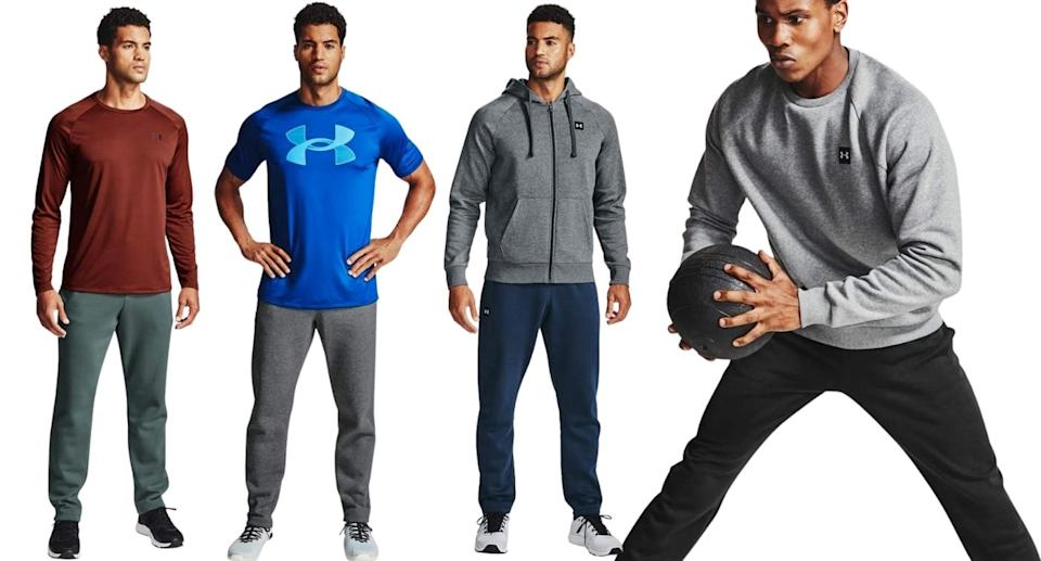 Men's Rival Fleece Pants by Under Armour have more than 2,100 five star reviews on Amazon.