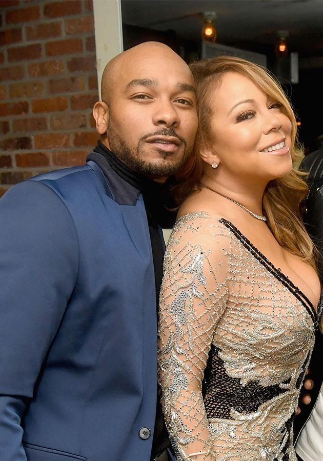 Mariah has fired her creative director Anthony Burrell. Photo: Getty Images