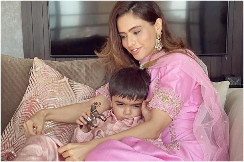 Aamna Sharif Shares Photos of Happy Moments with 5-year-old Son Arain