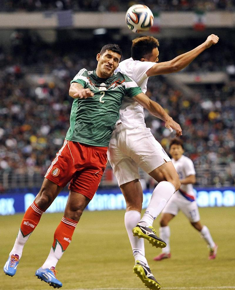 Mexico beats South Korea 4-0 in friendly