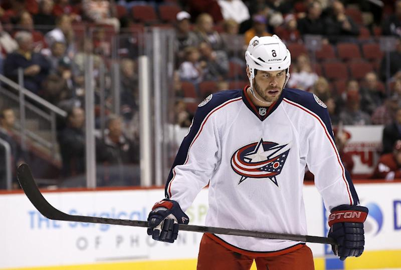 Horton finds a home with Columbus Blue Jackets