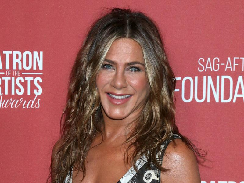 Jennifer Aniston gets into Christmas spirit as she throws 'party of the year'