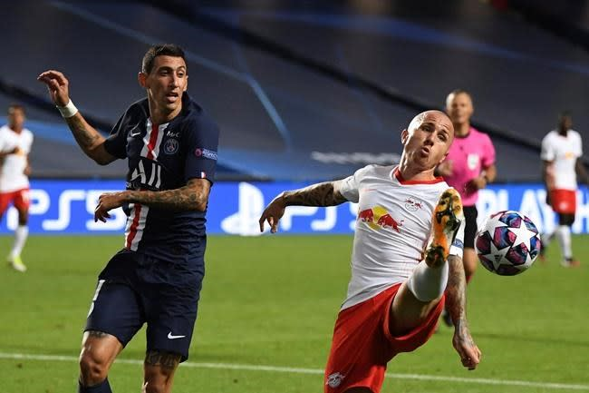 Leipzig signs Angeliño on new loan with option to buy