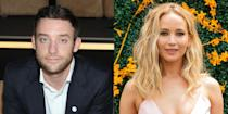 "<p>In June 2018, news broke that Lawrence was dating art gallerist Maroney. By February, the couple was engaged, although they never formally confirmed their relationship in the first place. But during a June 2019 episode of  Catt Sadler's <a href=""http://www.thecattwalk.com/naked"" rel=""nofollow noopener"" target=""_blank"" data-ylk=""slk:NAKED With Catt Sandler podcast"" class=""link rapid-noclick-resp""><em>NAKED With Catt Sandler </em>podcast</a>, the Oscar winner opened up about Maroney. ""He's my best friend so I want to legally bind him to me forever,"" she explained. ""And fortunately the paperwork exists for such a thing. It's the greatest. You find your favorite person in the planet and you're like you can't leave. So I wanted to take that offer."" The couple made it official in <a href=""https://www.elle.com/culture/celebrities/a29526275/jennifer-lawrences-cooke-maroney-wedding-details/"" rel=""nofollow noopener"" target=""_blank"" data-ylk=""slk:an October 2019 ceremony"" class=""link rapid-noclick-resp"">an October 2019 ceremony</a> in Rhode Island.</p>"