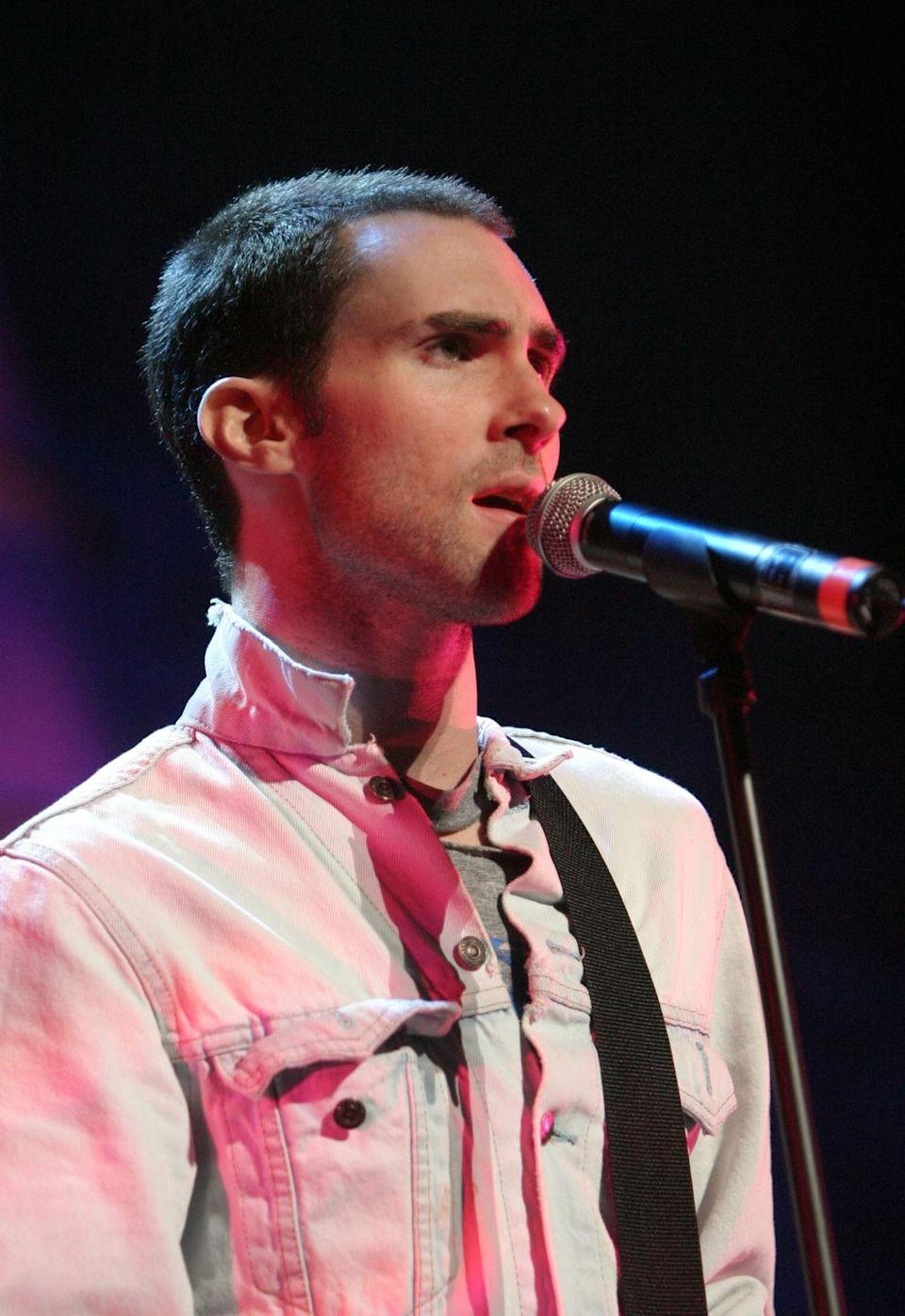 """<p><a href=""""https://www.goodhousekeeping.com/life/entertainment/a27701774/adam-levine-the-voice-exit-response/"""" rel=""""nofollow noopener"""" target=""""_blank"""" data-ylk=""""slk:Adam Levine"""" class=""""link rapid-noclick-resp"""">Adam Levine</a> has said that almost every song on the 2002 album <em>Songs About Jane</em> was about a former ex-girlfriend ― except this one, which is about the band's frustration with their label. """"It was the 11th hour, and the label wanted more songs,"""" he <a href=""""http://www.mtv.com/news/1457217/maroon-5-aspire-to-inspire-sexuality-crying/"""" rel=""""nofollow noopener"""" target=""""_blank"""" data-ylk=""""slk:told MTV News"""" class=""""link rapid-noclick-resp"""">told MTV News</a>. """"It was the last crack. I was just pissed. I wanted to make a record and the label was applying a lot of pressure, but I'm glad they did.""""</p>"""