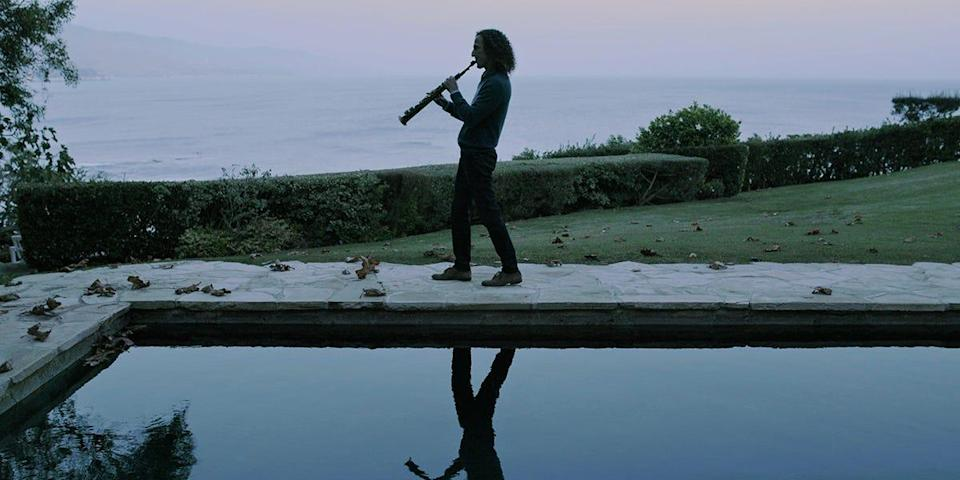 """The documentary """"Listening to Kenny G"""" chronicles the life and work of the iconic saxophonist and also discusses why he's both loved and despised by music fans."""