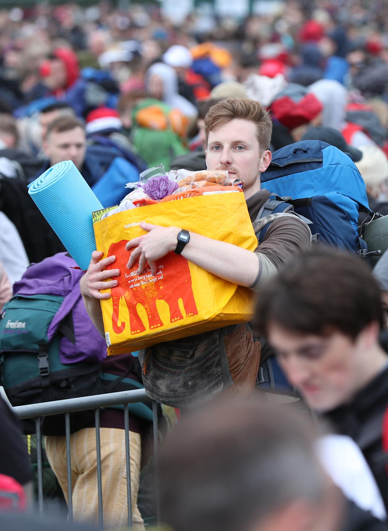 The Glastonbury Festival is set for clement conditions this year