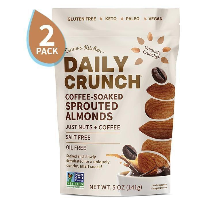 <p>These <span>Daily Crunch Snacks Coffee-Soaked Sprouted Almonds</span> ($15 for 2) are a combination of two of our favorite ingredients, and we are so on board.</p>