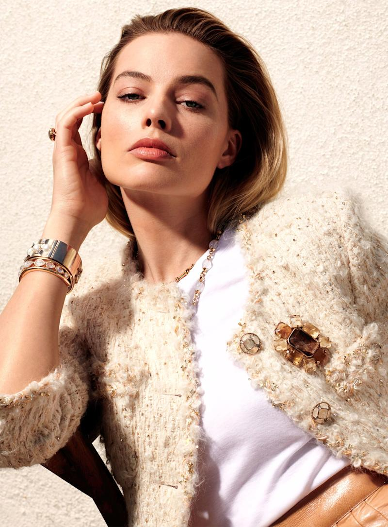Margot Robbie on Keeping Her Cool in the Spotlight