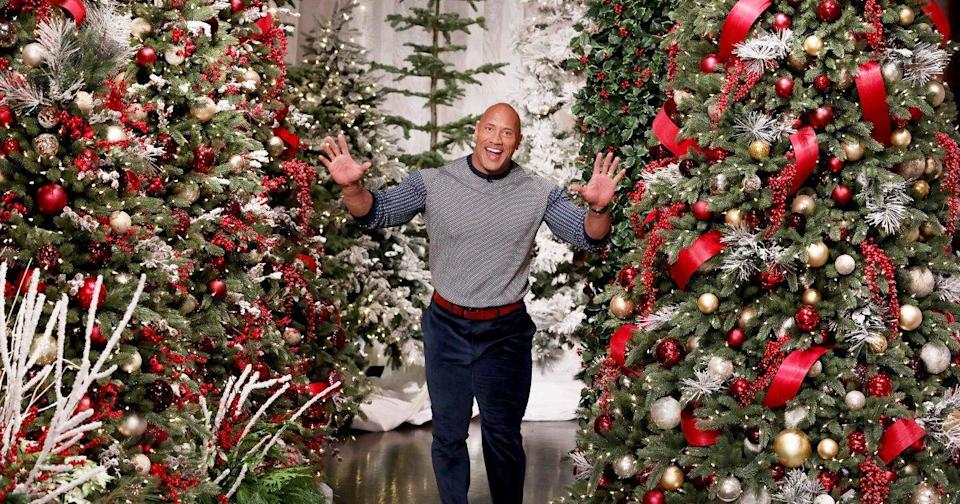 Dwayne 'The Rock' Johnson Unveils His Own 'Dwanta Claus' Holiday Ice Cream Line