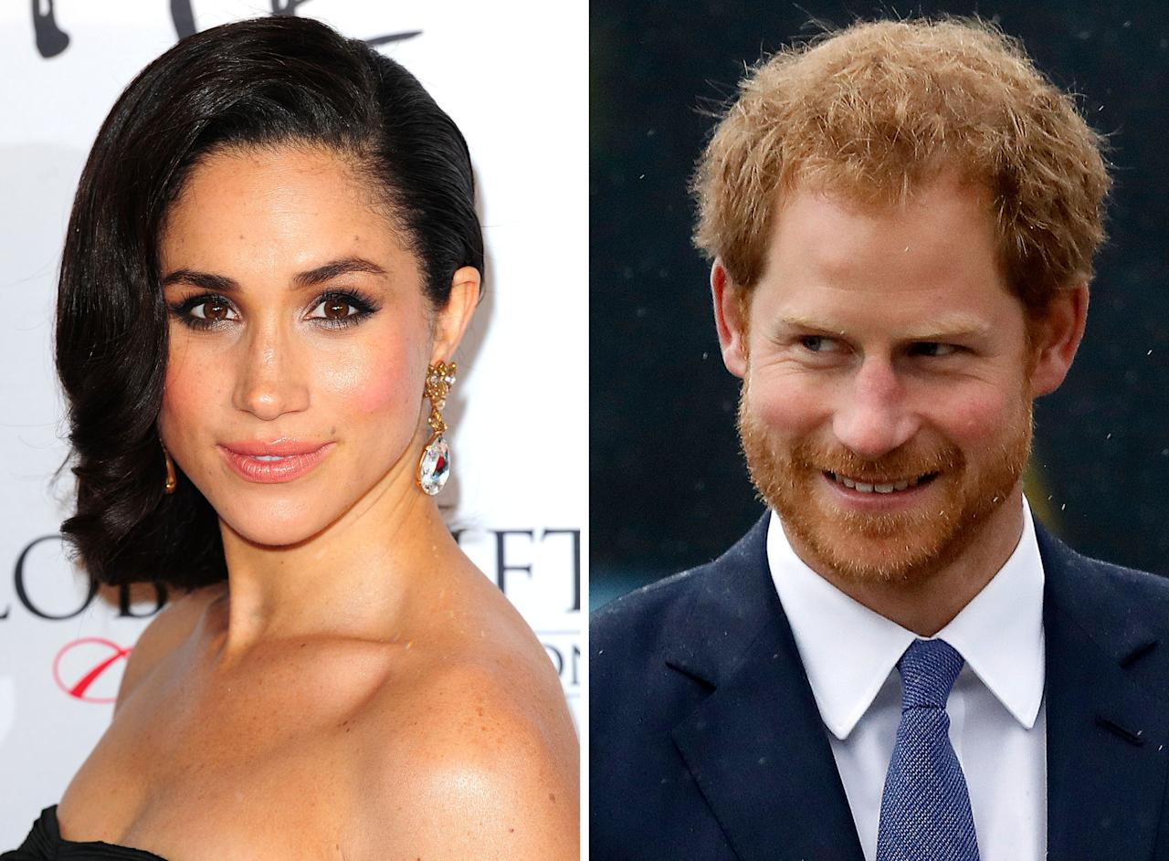 "<p>When news started leaking that Harry and Meghan were dating, the Internet was whipped into such a frenzy that Harry was forced to issue a statement in which he famously referred to Meghan his ""girlfriend"" while at the same time pleading for privacy. That, in itself, was unprecedented.<br /><em>[Photo: PA]</em> </p>"