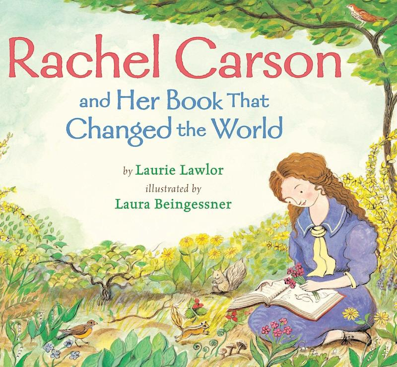 "Pioneering environmentalist and ""Silent Spring"" author Rachel Carson is the subject of this picture book biography. <i>(Available <a href=""https://www.amazon.com/Rachel-Carson-Book-Changed-World/dp/0823431932"" target=""_blank"" rel=""noopener noreferrer"">here</a>)</i>"