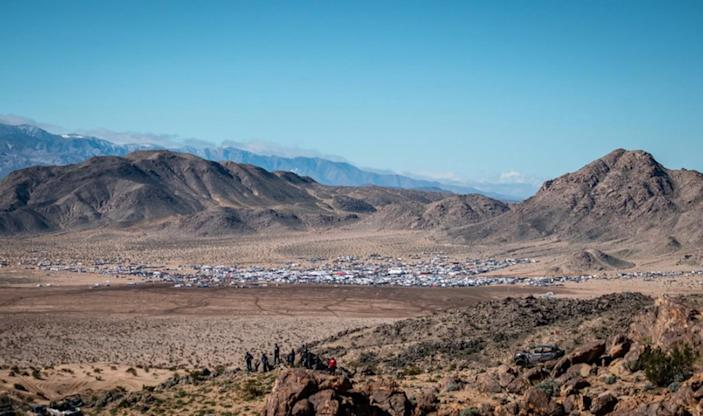 The 2019 King of the Hammers festival in Johnson Valley.