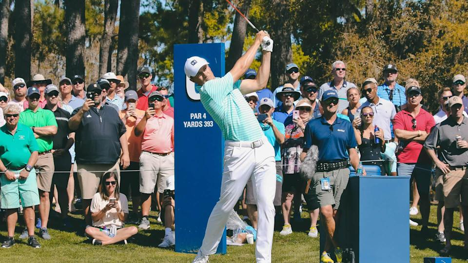 <p>Jordan Spieth is one of nine golfers with a nine-figure net worth and at least one major win — three, in his case. He turned pro in 2012, joined the PGA Tour in 2013 and has already amassed 11 Tour victories, including three majors, two of which he won in 2015 alone as part of a single year with five tournament wins.</p>