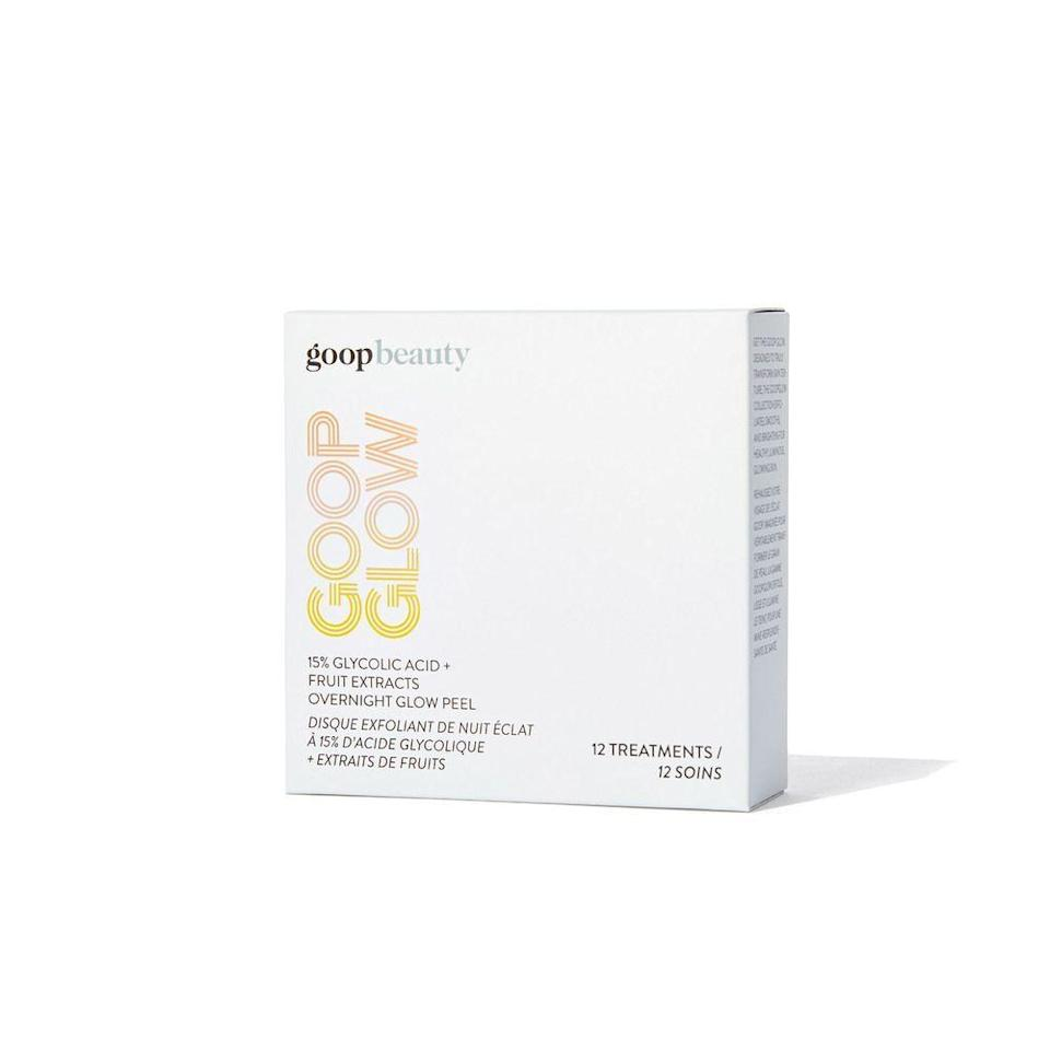 """<p><strong>Goop</strong></p><p>goop.com</p><p><strong>$112.00</strong></p><p><a href=""""https://shop.goop.com/shop/products/goopglow-glycolic-acid-peel-pads?country=USA&variant_id=54426"""" rel=""""nofollow noopener"""" target=""""_blank"""" data-ylk=""""slk:SHOP NOW"""" class=""""link rapid-noclick-resp"""">SHOP NOW</a></p><p>Goop's exfoliating overnight acid peel pads refine and brighten skin while one sleeps, making it the perfect gift for all your friends with obsessive skin care routines.</p><p><strong>Cost:</strong> Starts at $112 per month</p>"""