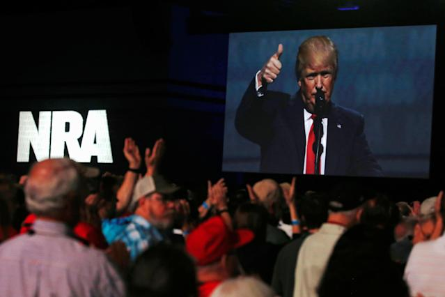 The NRA endorsed Donald Trump for president, but the early days of the administration have still been tough for the gun business.