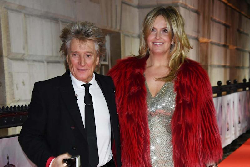 Rod Stewart and Penny Lancaster pictured in 2017: Stuart Wilson/Getty Images