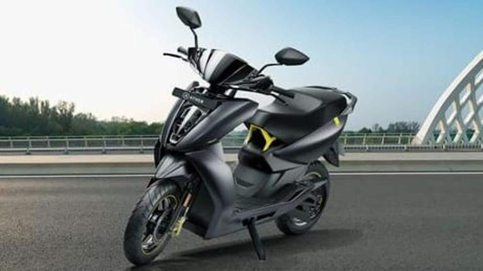 Ather improves 450X electric scooter