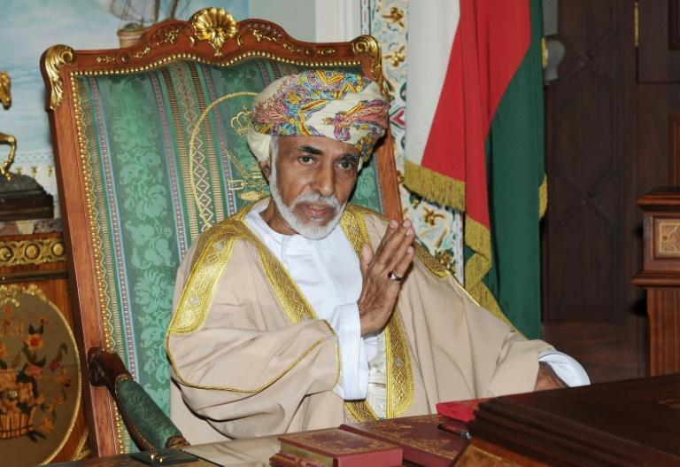 Sultan Qaboos died on Friday at the age of 79 as the longest-serving leader of the modern Arab world (AFP Photo/STR)