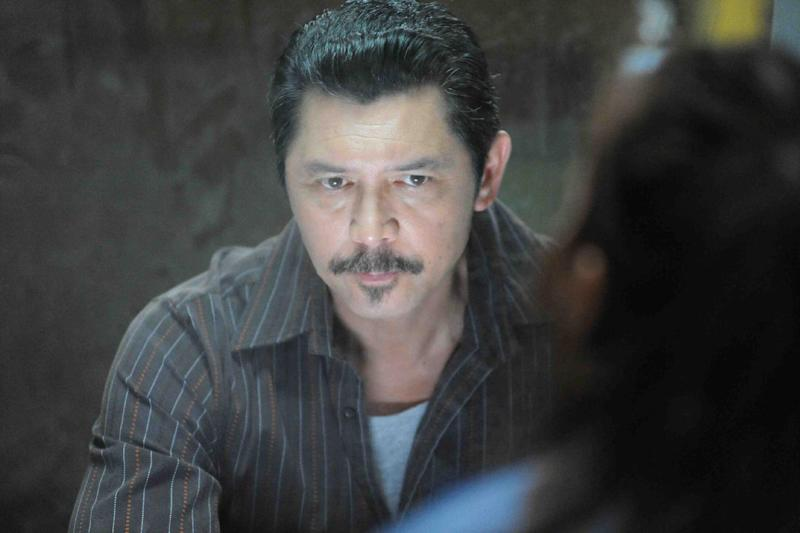 "This publicity photo provided by Pantelion Films shows Lou Diamond Phillips in a scene from the film, ""Filly Brown."" The film releases on April 19, 2013. (AP Photo/Pantelion Films/Lionsgate, John Castillo)"