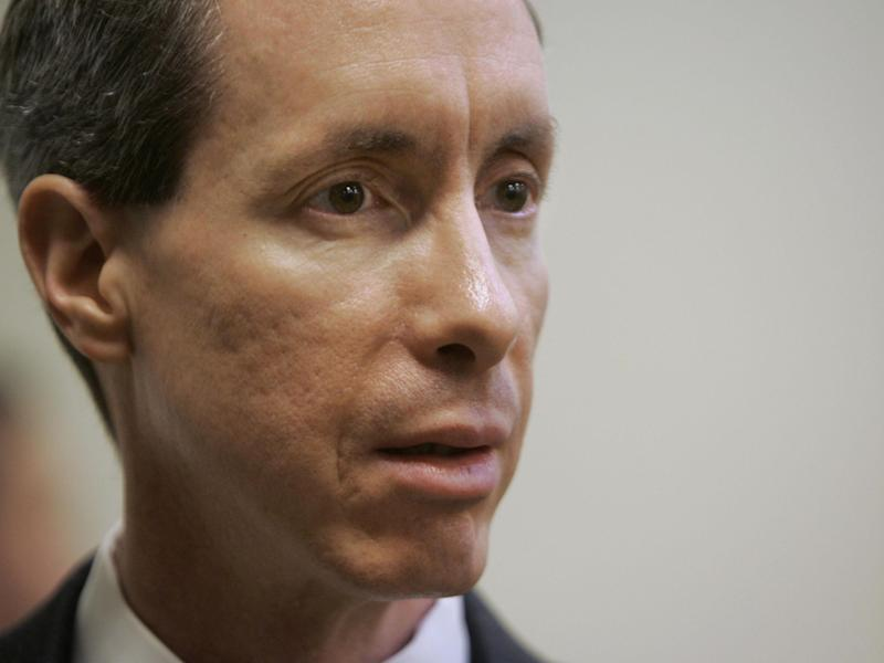 Warren Jeffs pictured during his trial in Utah in September 2007: Getty Images