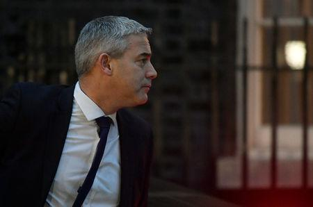 Britain's Secretary of State for Exiting the European Union Stephen Barclay arrives in Downing Steet in London, Britain, January 16, 2019. REUTERS/Toby Melville