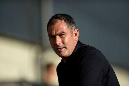 FILE PHOTO: Football Soccer - Barnet vs Swansea City - Pre Season Friendly - London, Britain - July 12, 2017 Swansea City manager Paul Clement before the match Action Images via Reuters/Adam Holt/File Photo