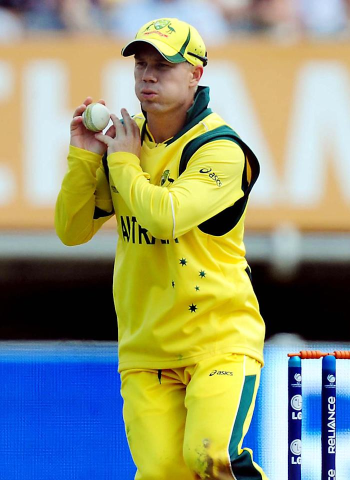 File photo dated 08/06/2013 of Australia's David Warner.