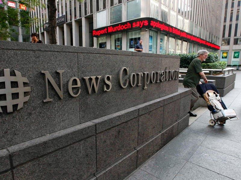 News Corp advertising revenue falls