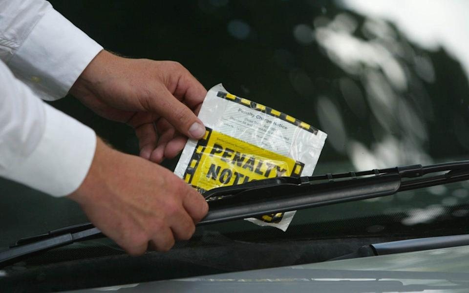 Traffic wardens are being used by Islington council to prevent motorists from being fined - Heathcliffe O'Malley
