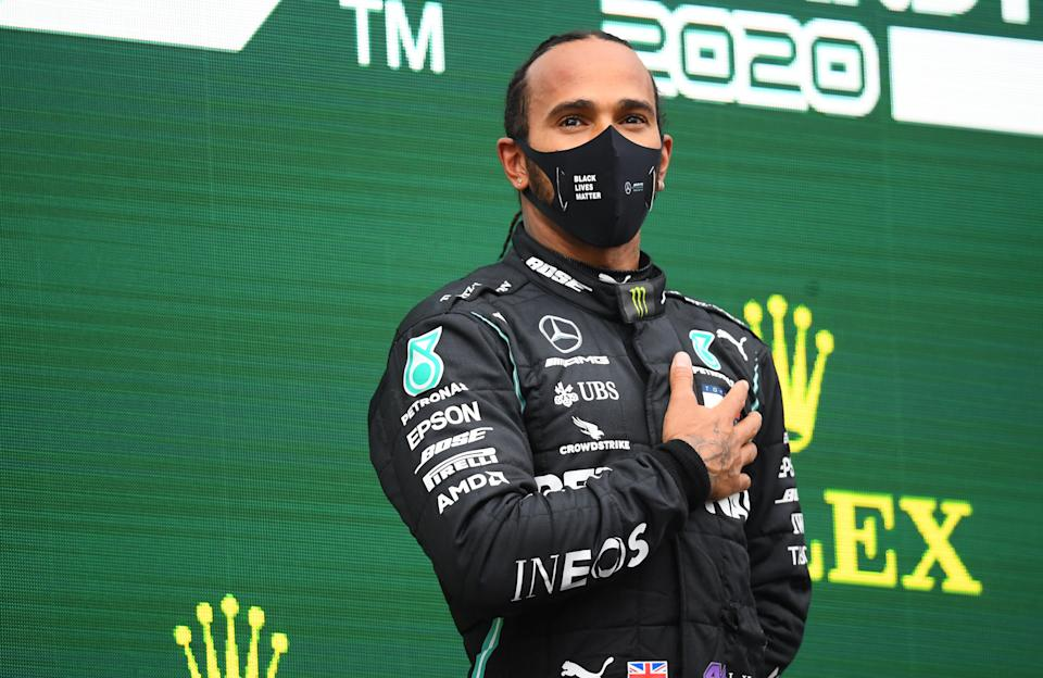 <p>Hamilton called on F1 to do more to address human rights issues</p>Reuters