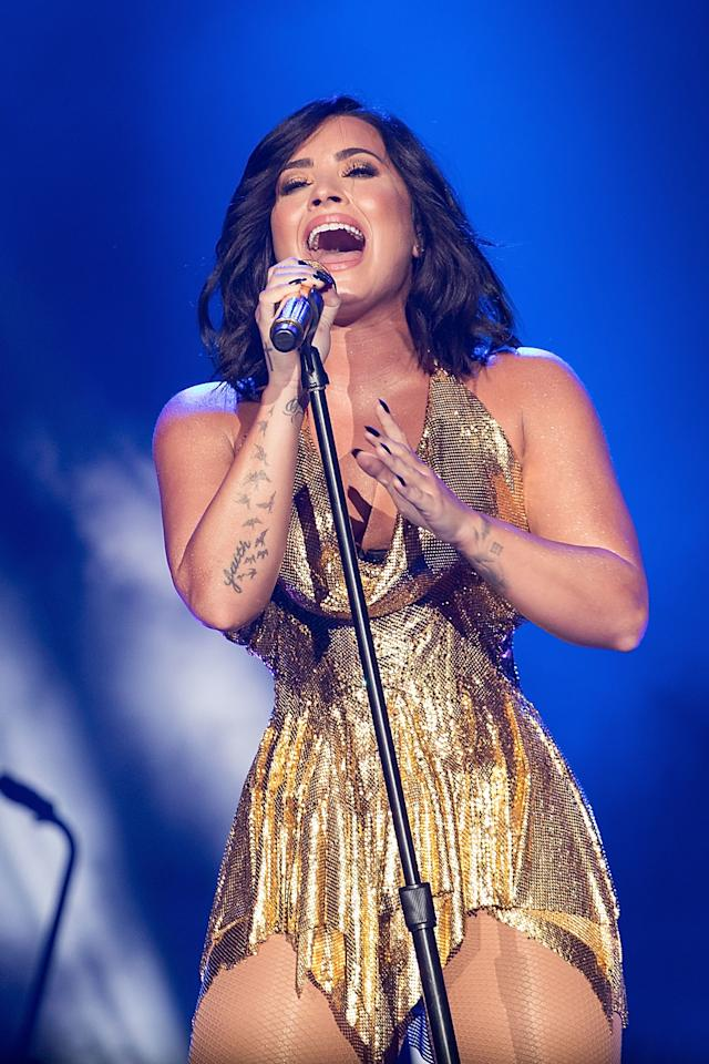 "<p>Lovato has <a rel=""nofollow"" href=""http://www.glamour.com/story/demi-lovato-gets-real-glamour-november-2016?mbid=synd_yahoohealth"">always been outspoken</a> about the fact that she had an eating disorder and engaged in self-harm and substance abuse. She's also been honest about how hard she's worked to overcome them. She took time off to go to rehab and says she now works with her manager to create an ""amazing schedule"" that allows her to continue her career without getting so stressed out that she falls back on old habits.</p>"