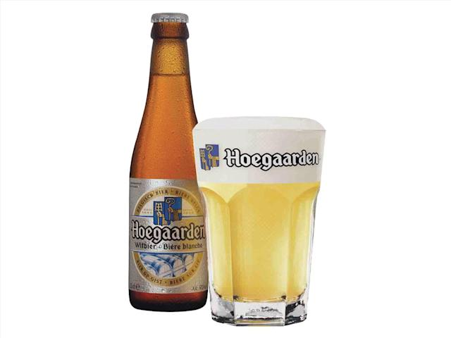 Hoegaarden is among the beer brands that could potentially boost gut bacteria, a scientist says.