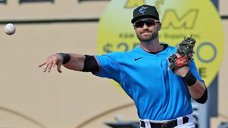 How a Marlins player helped save his alma mater's baseball program amid COVID-19 cuts