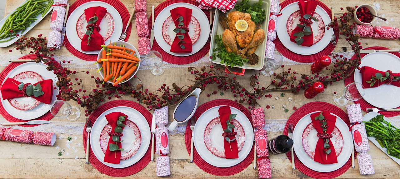 "<p>Between wrapping gifts and preparing your <a href=""https://www.countryliving.com/food-drinks/g635/holiday-recipe-book-1108/"">Christmas dinner menu</a>, you may not have too much time on your hands to think about your dinner table <a href=""https://www.countryliving.com/home-design/decorating-ideas/advice/g1247/holiday-decorating-1208/"">decorations</a>. But the answer to your time-strapped prayers is as simple as buying Christmas placemats. Think about it: With a lively color palette, they're punchy enough to brighten up close to the entirety of the table, leaving you to be able to use your everyday dishes and silverware if you'd like. And if you're looking to really go all out for your <a href=""https://www.countryliving.com/diy-crafts/how-to/g2218/christmas-party-ideas/"">Christmas party</a> this year, these rectangular and round Christmas placemats serve as the perfect base for special holiday chargers and silverware, and will complement any <a href=""https://www.countryliving.com/diy-crafts/g644/christmas-tables-1208/"">Christmas centerpieces</a> you set out. </p><p>But aside from presentation, we also know that the main function of place mats is to be the barrier between <a href=""https://www.countryliving.com/food-drinks/g2696/mashed-potato-recipes/"">mashed potatoes</a> and your beautiful table—especially if there will be a <a href=""https://www.countryliving.com/entertaining/g1198/christmas-kids-table-ideas/"">kids table</a> at dinner. For that reason, we've made sure to include Christmas paper placemats that are just as pretty as they are functional. They can be drawn on, spilled on, and thrown away once the meal is over. How easy is that? And aside from the paper variety, we also have options for quilted, fabric, and vinyl Christmas placemats too, in a range of price points. Shop our picks here!  </p>"