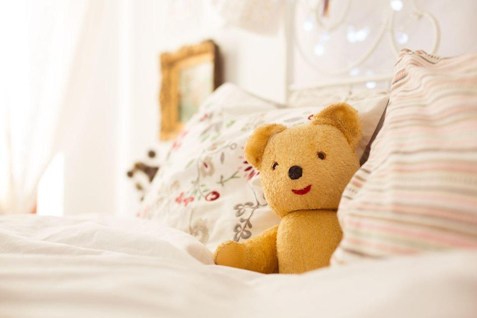 """<p>Young kids need 10 to 12 hours a night to feel energized the following day. That means a 10-year-old waking up at 7 a.m. for school needs to hit the pillow no later than 9 p.m. </p><p><strong>RELATED:</strong> <a href=""""https://www.goodhousekeeping.com/life/parenting/a34333/viral-bedtime-chart/"""" rel=""""nofollow noopener"""" target=""""_blank"""" data-ylk=""""slk:This Chart Tells Exactly When Your Kid Should Go to Bed"""" class=""""link rapid-noclick-resp"""">This Chart Tells Exactly When Your Kid Should Go to Bed</a></p>"""