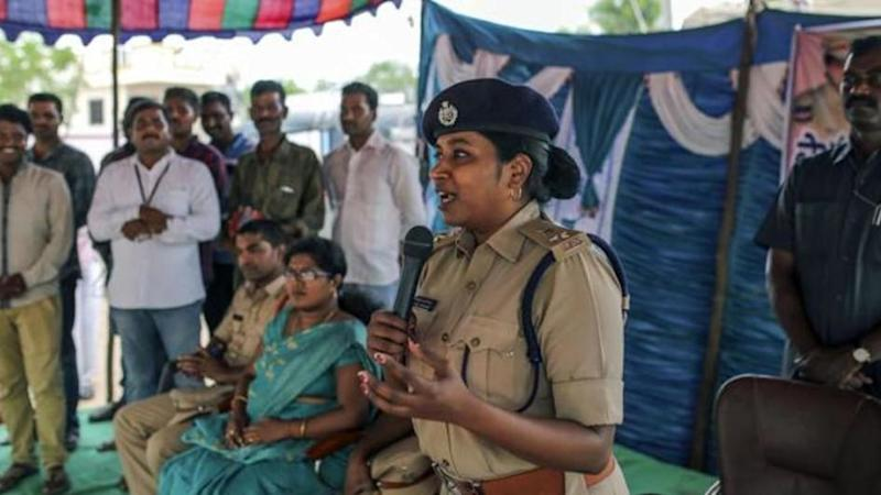 Telangana IPS officer successfully controlling