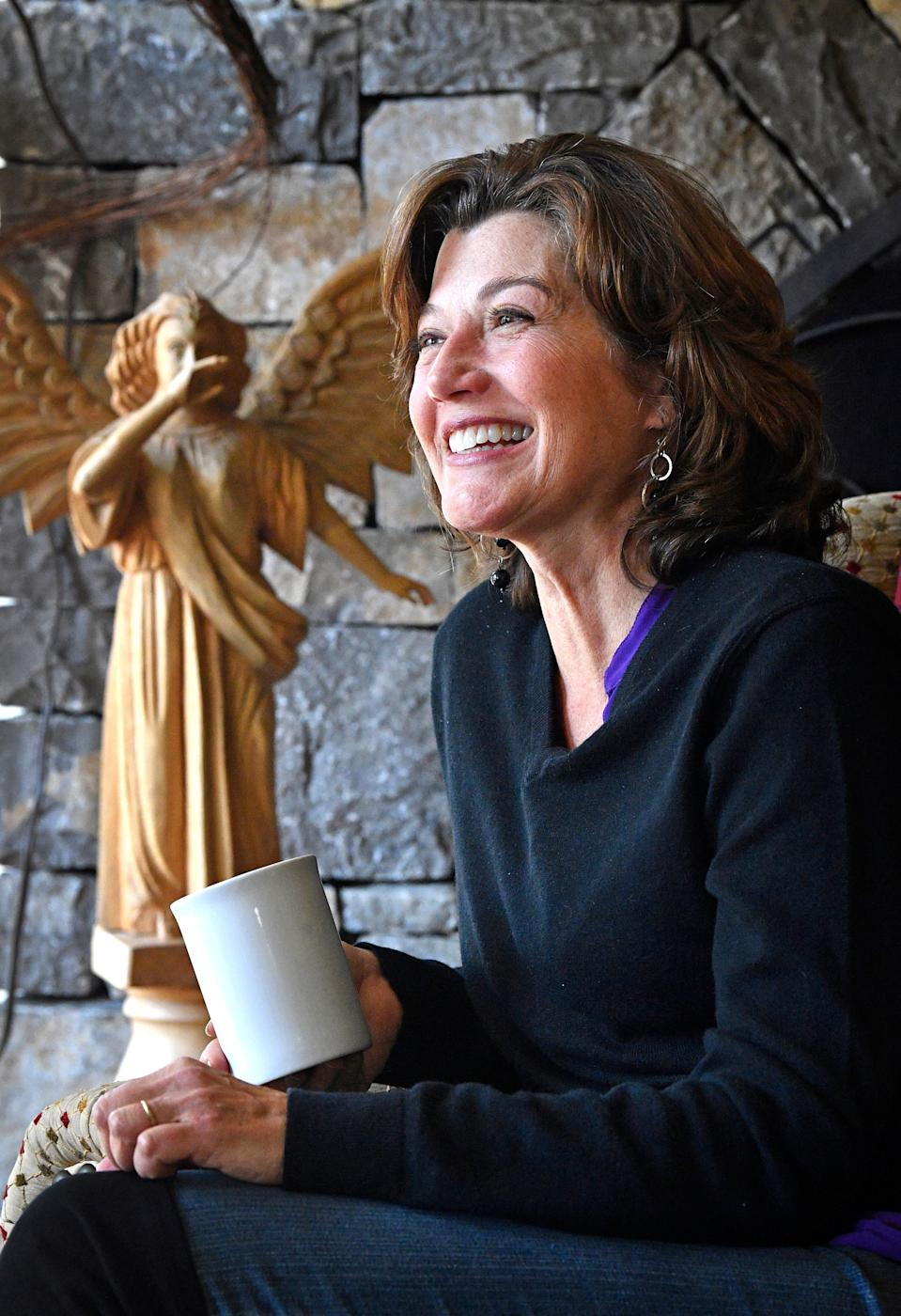 Amy Grant is thankful for second chances after undergoing open heart surgery this past summer in Nashville, Tenn. Friday, Oct. 16, 2020.