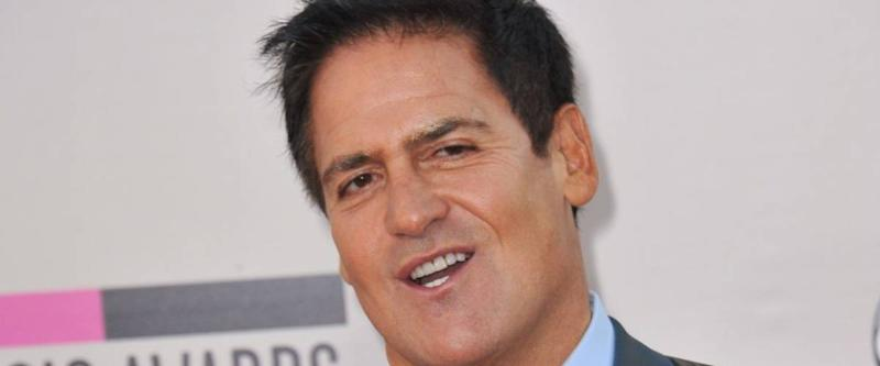 LOS ANGELES, CA - NOVEMBER 24, 2013: Mark Cuban at the 2013 American Music Awards at the Nokia Theatre, LA Live.