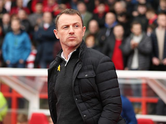 Gary Rowett denies putting two fingers up to Nottingham Forest fans