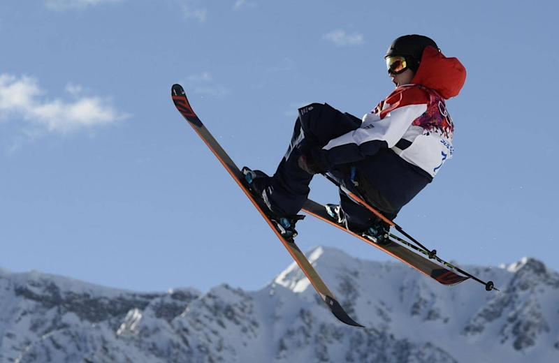 Men's freestyle skiing qualification (AFP/Getty Images)